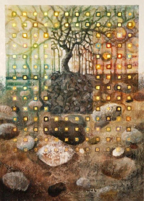 4 seasons' tree no.24 & Underground no.12 - sold