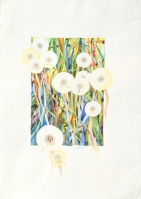dandelion lights - SOLD