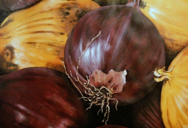 untitled onions - detail