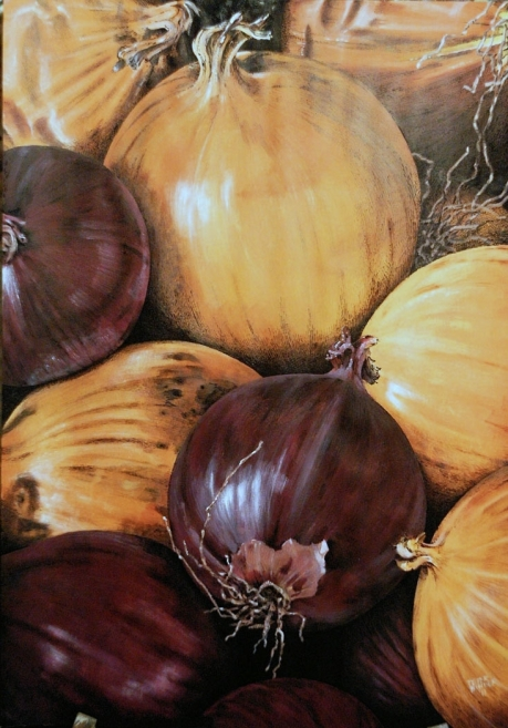 untitled onions - SOLD