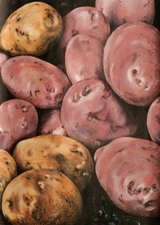 untitled potatoes - SOLD