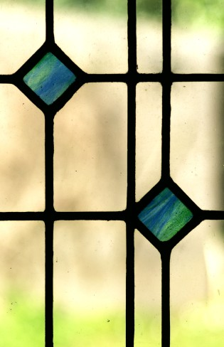 stained glass - detail